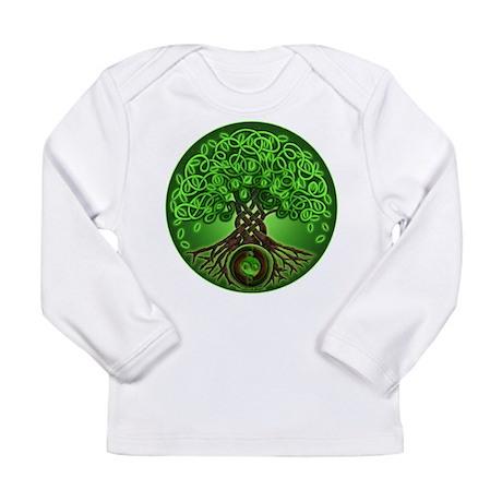 Circle Celtic Tree of Life Long Sleeve Infant T-Sh