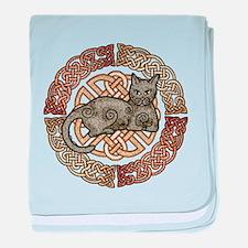 Celtic Cat Infant Blanket