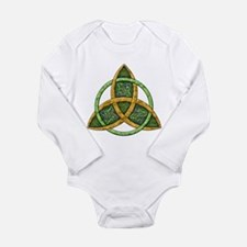 Celtic Trinity Knot Long Sleeve Infant Bodysuit