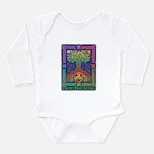 Celtic Tree Of Life Long Sleeve Infant Bodysuit