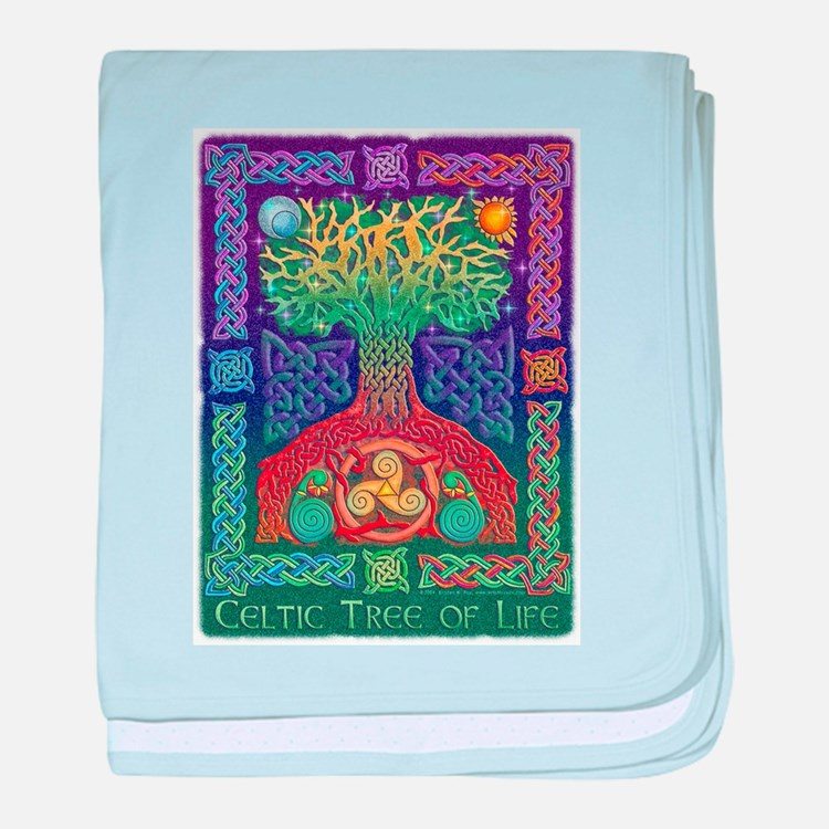 Celtic Tree Of Life Infant Blanket