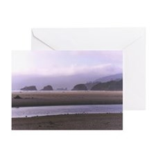 Canon beach Greeting Cards (Pk of 10)