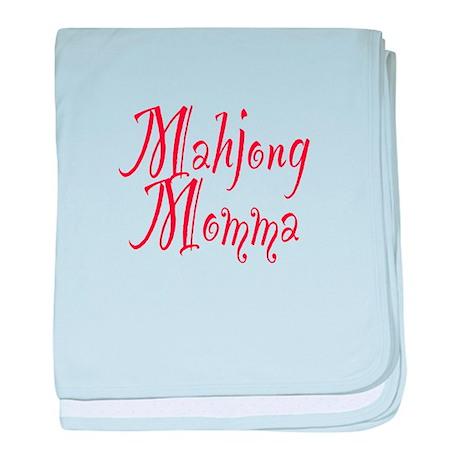 Mahjong Momma Infant Blanket