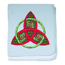 Celtic Holiday Knot Infant Blanket