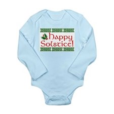 Happy Solstice Long Sleeve Infant Bodysuit