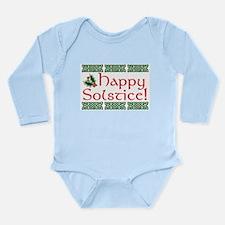 Happy Solstice Long Sleeve Infant Bodysuit