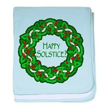 Celtic Solstice Wreath Infant Blanket