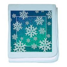 Celtic Snowflakes Infant Blanket