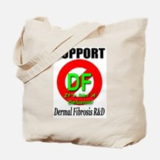 Support DF Dermal Fibrosis R& Tote Bag