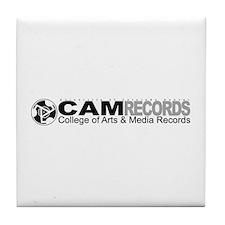 Cute Record Tile Coaster