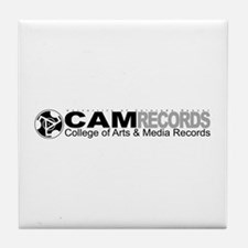 Cute Record Tile Coaster