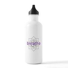 breathe Om Lotus Blossom Sports Water Bottle