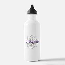 breathe Om Lotus Blossom Water Bottle