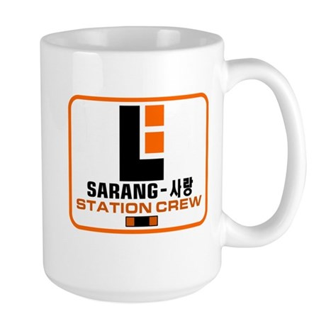 Sarang Station Crew Large Mug