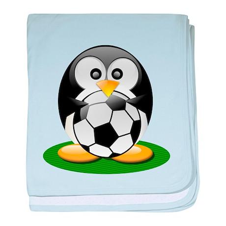 Soccer penguin Infant Blanket