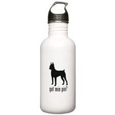 Minature Pinscher Water Bottle
