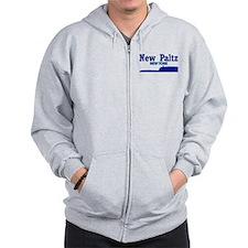 New Paltz Blue Mohonk Zip Hoodie