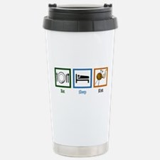 Eat Sleep Knit Travel Mug