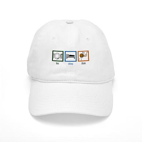 Eat Sleep Knit Cap