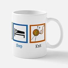 Eat Sleep Knit Mug