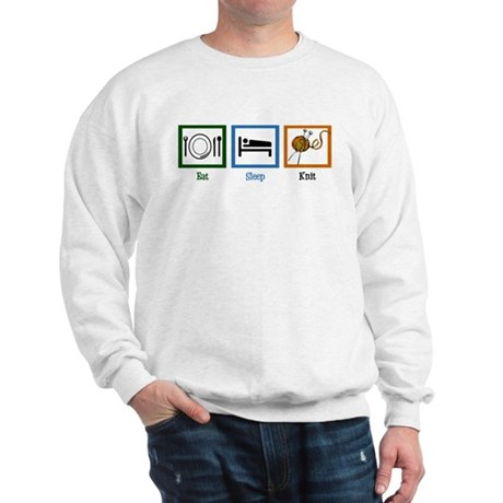 Eat Sleep Knit Sweatshirt