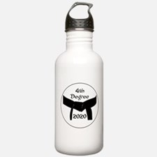 4th Degree Black Belt Water Bottle