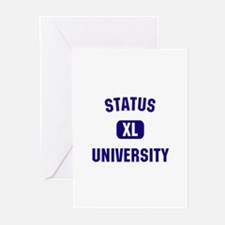 Status University Greeting Cards (Pk of 10)