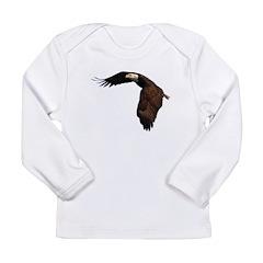 The Bald Eagle Long Sleeve Infant T-Shirt