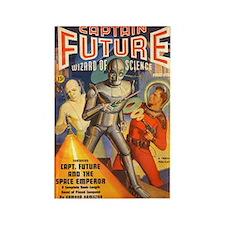 $4.99 Pulp Captain Future Rectangle Magnet