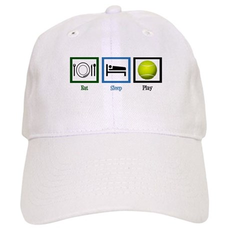 Eat Sleep Tennis Cap