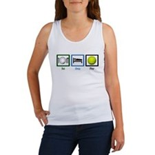 Eat Sleep Tennis Women's Tank Top