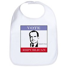 Vote Republican - Nixon Bib