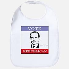 Vote Republican - Nixon Bib