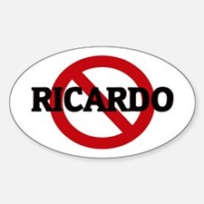 Anti-Ricardo Oval Decal