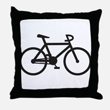 Klaar Bike Gear Throw Pillow