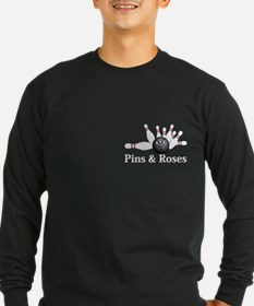 Pins and Roses Logo 6 T Des