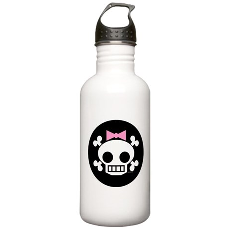 Skull Baby Girl Stainless Water Bottle 1.0L