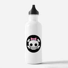 Skull Baby Girl Water Bottle