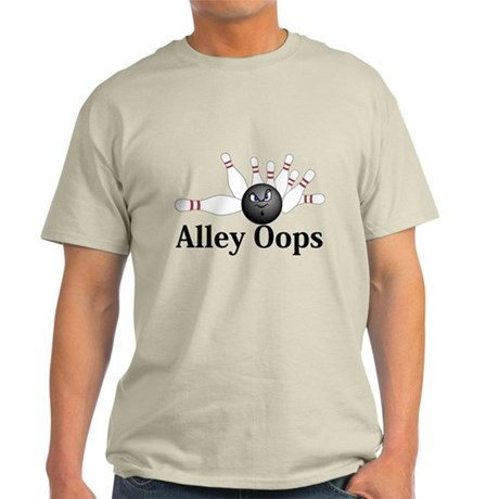 Alley Oops Logo 6 Light T-Shirt Design Front Cente