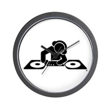 Cute Disc jockeys Wall Clock