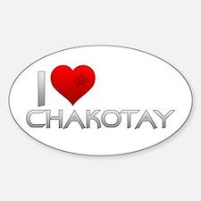 I Heart Chakotay Decal