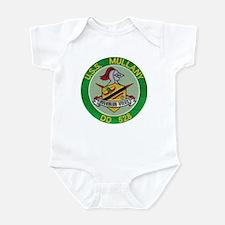 USS MULLANY Infant Bodysuit