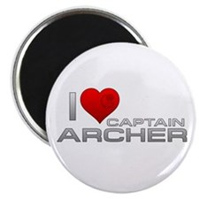 I Heart Captain Archer Magnet