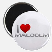 I Heart Malcolm Magnet