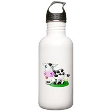 Cute Cow Milk Water Bottle