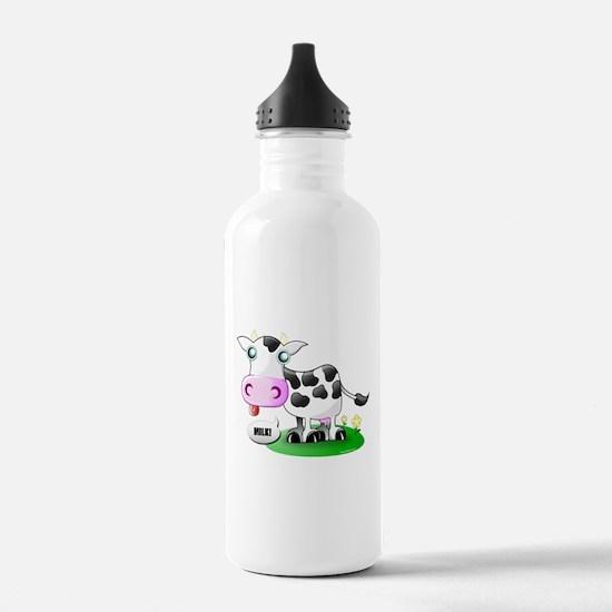 Cute Cow Milk Water Bottle