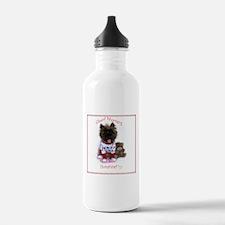 Cairn Terrier Good Mor Water Bottle
