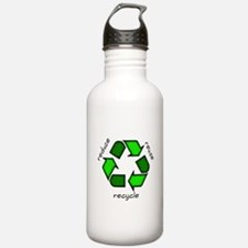 Reduce, Reuse, Recycle Water Bottle