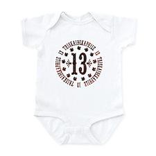 Lucky Triskaidekaphile Infant Bodysuit