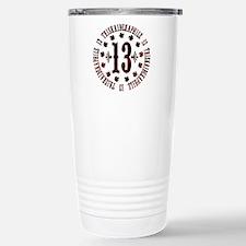 Lucky Triskaidekaphile Travel Mug